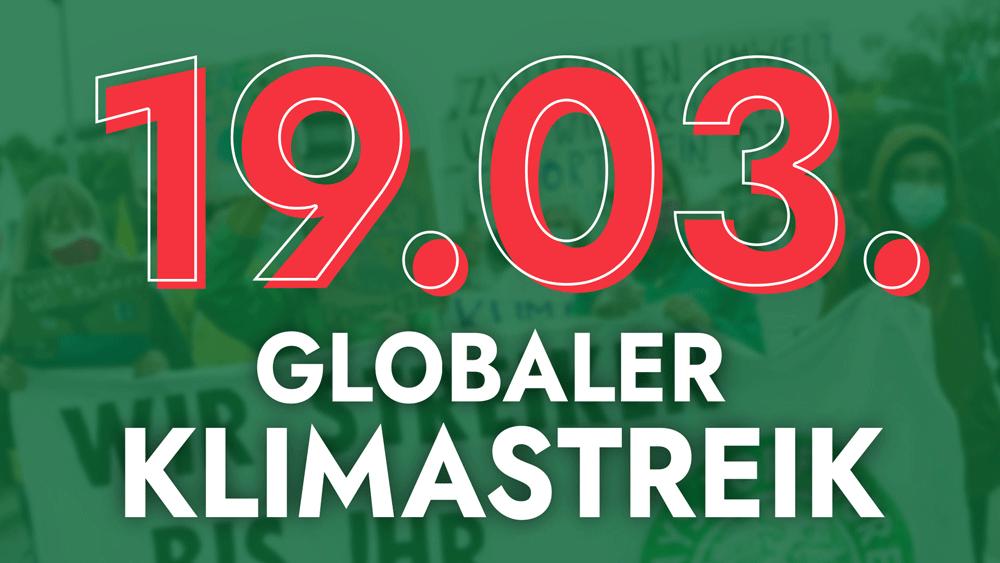 19.03. Globaler Klimastreik